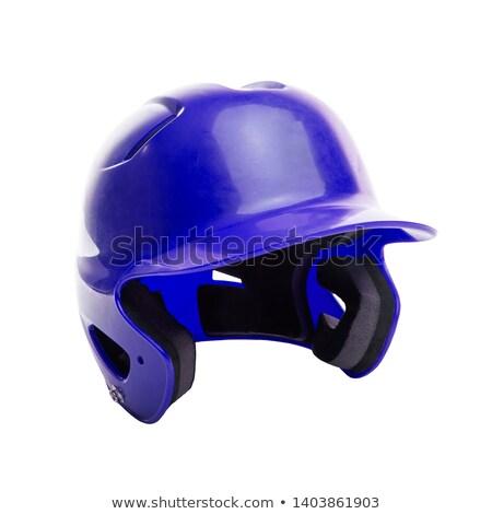 ヘルメット 青 野球 ソフトボール スポーツ スタジアム ストックフォト © ClipArtMascots