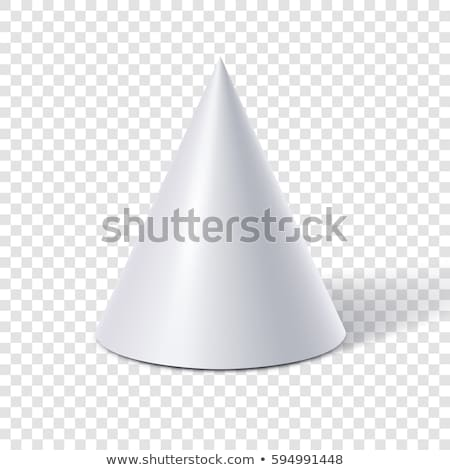 3d isolated pyramid background stock photo © ivanc7