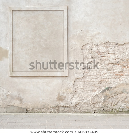 Cracked stucco wall Stock photo © asturianu