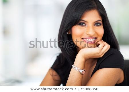 Pretty young woman with a fabulous smile Stock photo © konradbak