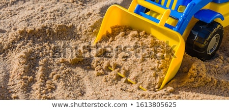 toys in a sandbox Stock photo © dmitroza