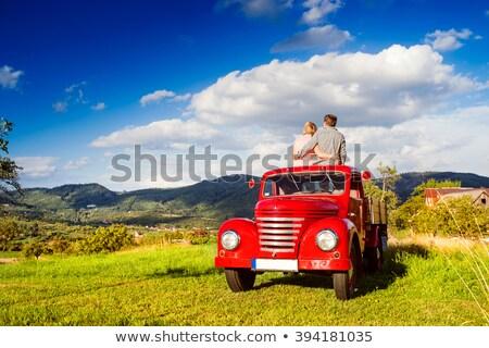 Apple Pickup Truck Stock photo © rghenry
