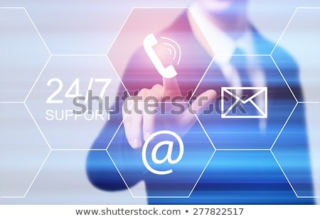 24/7 SUPPORT  Stock photo © coramax