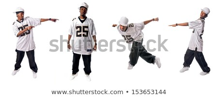 Four hiphop dancers Stock photo © bluering