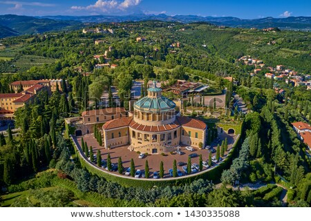 Santuario Madonna Di Lourdes. Verona, Italy Stock photo © dezign80