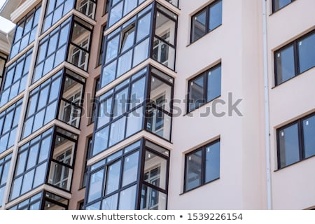 A big grey residential property Stock photo © bluering
