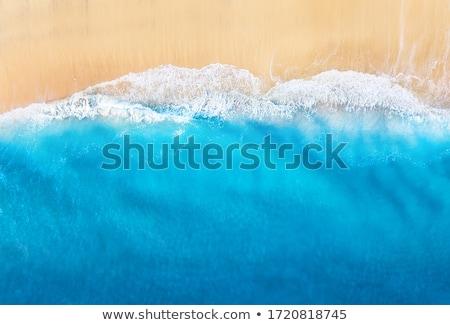 Zeegezicht boot hemel strand achtergrond Stockfoto © bank215