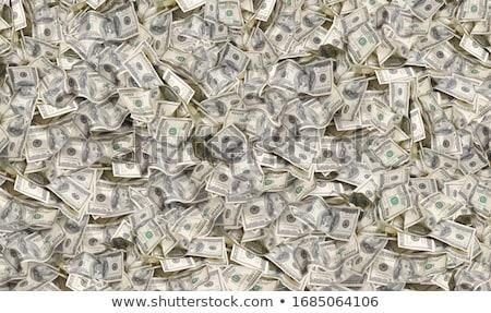 Une cent dollars vert banque Photo stock © zurijeta