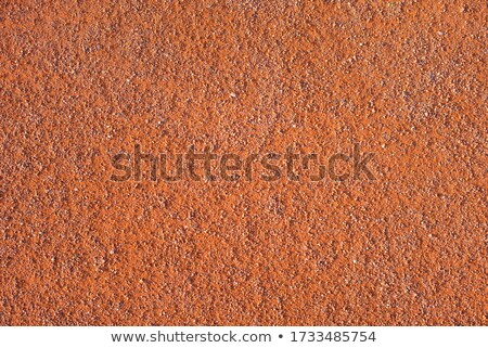 テニス · 赤 · 粘土 · テニスボール · 表面 · 広場 - ストックフォト © koufax73