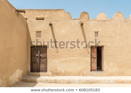 Arabian Door Stock photo © zambezi