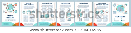 レポート ビジネス 雑誌 カバー テンプレート ストックフォト © SArts