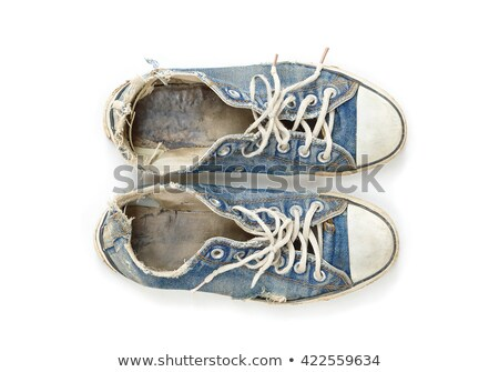 smelly old sneakers Stock photo © photohome