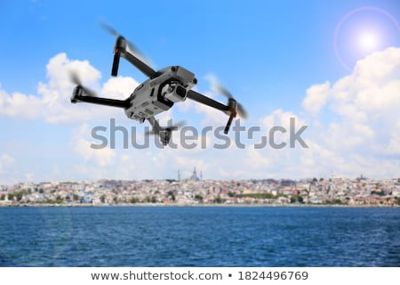 fly over the sea stock photo © psychoshadow
