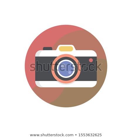 camera · sluiter · icon · vector · film · achtergrond - stockfoto © curiosity