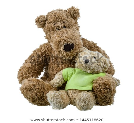 Doll and other toys on white background Stock photo © bluering