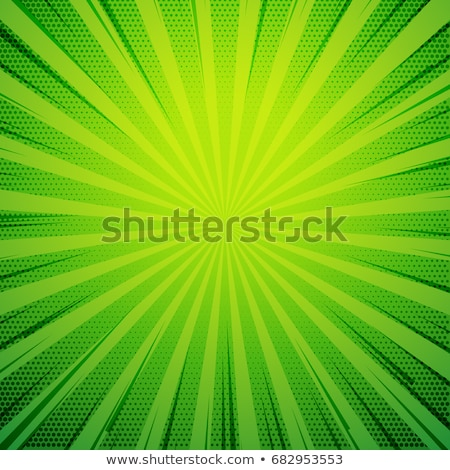 green pop art comic book style retro background with exploding r stock photo © SArts