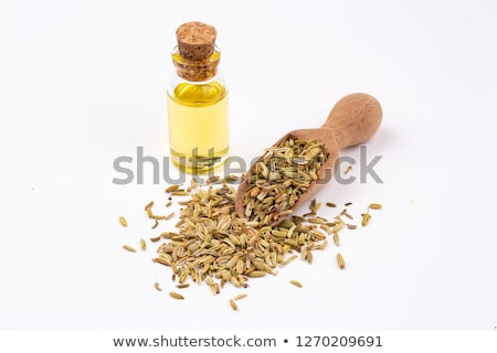 Stock photo: Fennel seeds oil
