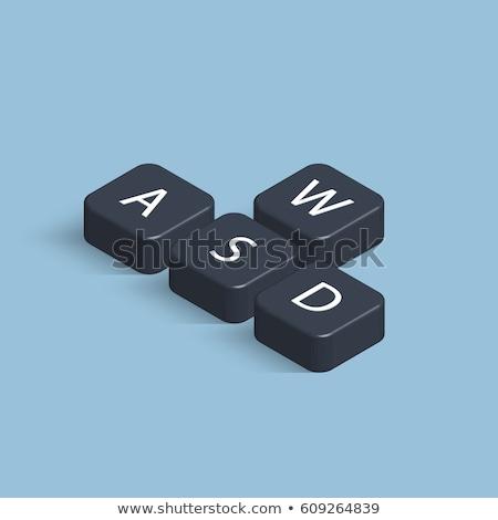 Stock fotó: Web · design · szerszámok · billentyűzet · kulcs · 3D · üzlet