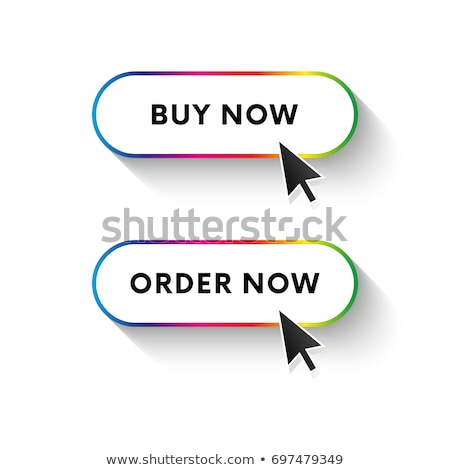 Conjunto elegante botões comprar diferente Foto stock © kup1984