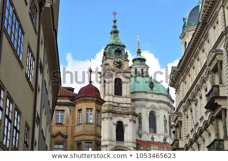 View of Cathedral of Saint Nicolas at the Old Town Square in Pra stock photo © vladacanon
