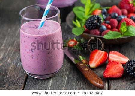 homemade fruits smoothie stock photo © yuliyagontar