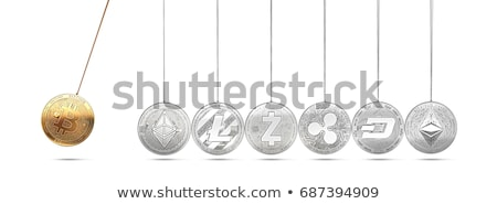 Bitcoin - Cryptocurrency Coin. 3D rendering Stock photo © tashatuvango
