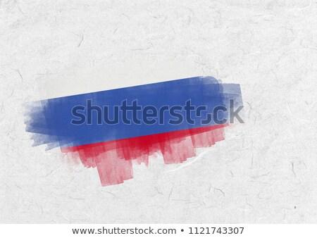 Россия флаг пергаменте Сток-фото © wavebreak_media
