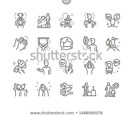 bocado · jogo · homem · mulher - foto stock © robuart