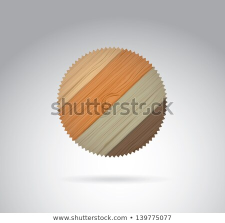 Color Carpentry Tool Detail Circular Saw Blade Vector Stock photo © pikepicture