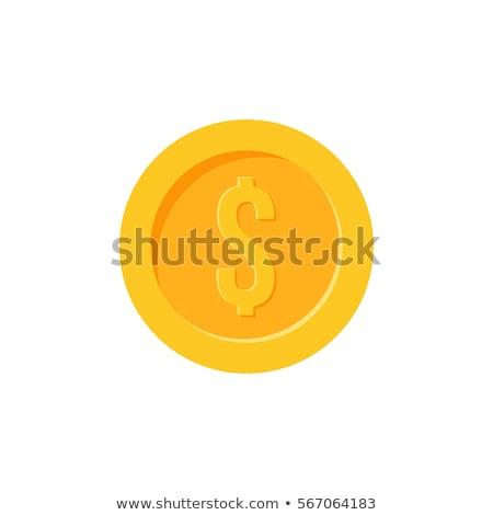 Foto stock: Moedas · dólar · dinheiro · lucro · negócio · vetor