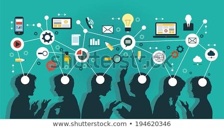 Businessmen meeting with mind map Stock photo © wavebreak_media