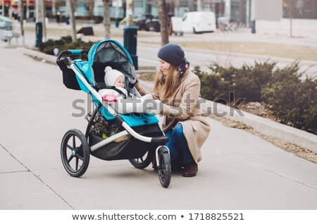 mother and child in the city together Stock photo © Lopolo