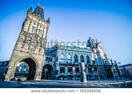 муниципальный дома Прага здании арт нуво архитектура Сток-фото © borisb17