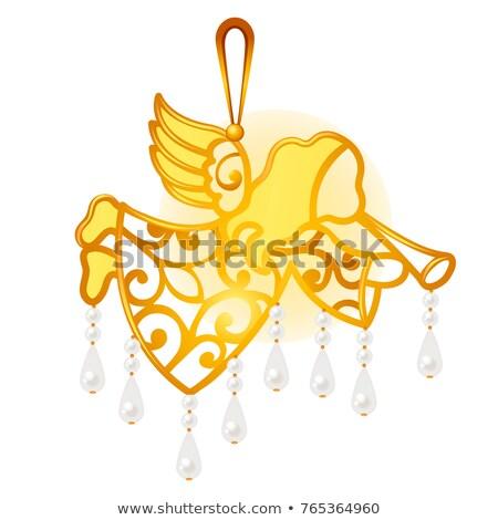 vetor · páscoa · decorações · enforcamento - foto stock © lady-luck