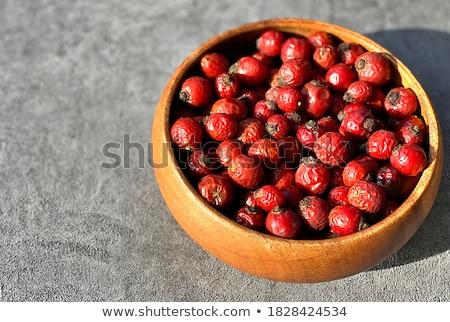 rózsa · csípő · gyógynövény · tea · olajbogyó · fa · merítőkanál - stock fotó © agfoto