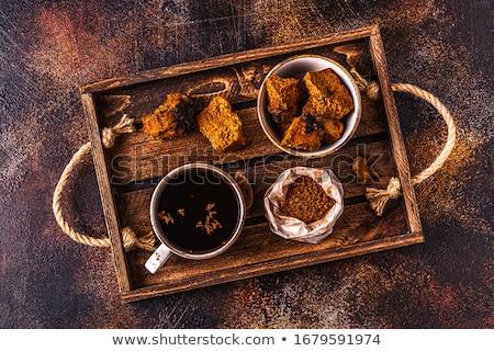 菌 木材 木製 浅い 食品 ストックフォト © AGfoto