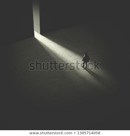 脱出 ビジネス コンピュータ キー ボタン ストックフォト © Lightsource