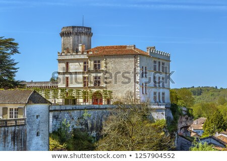 Chateau de Bourdeilles, Francev Stock photo © borisb17