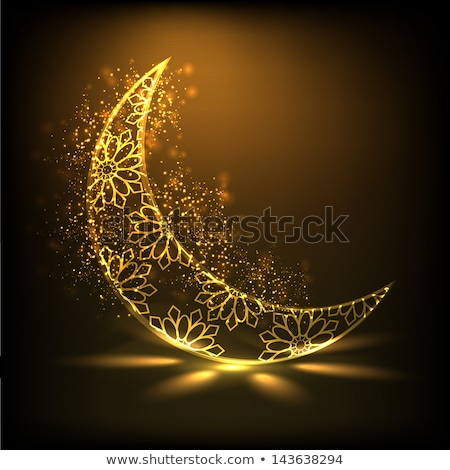 eid festival moon and mosque design background Stock photo © SArts