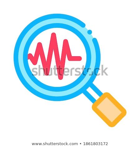 Studie aardbeving icon vector schets illustratie Stockfoto © pikepicture