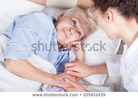 care · paziente · bella · infermiera · senior - foto d'archivio © photography33
