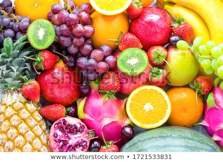 Stok fotoğraf: Assortment Of Fruits
