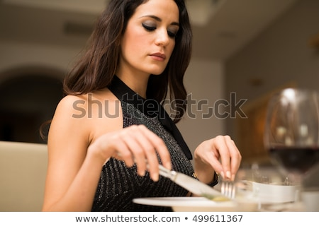 Table manners Stock photo © sumners