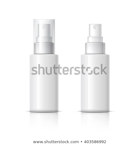 Parfum spray bouteille photo forme couronne Photo stock © sumners