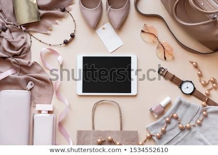 luxury shopper stock photo © lithian