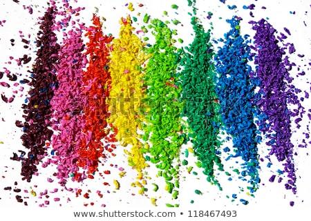 Kleur kleurstof foto Stockfoto © ajfilgud