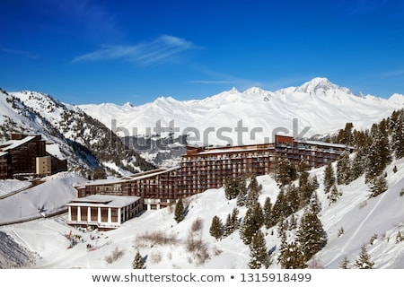 Les Arc - Alpine Skiing Resort stock photo © pkirillov