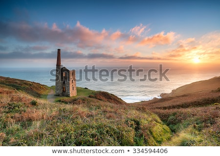 Wheal Prosper at Rinsey Head in Cornwall Stock photo © mosnell