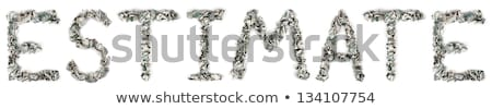 Estimation - Crimped 100$ Bills Stock photo © eldadcarin