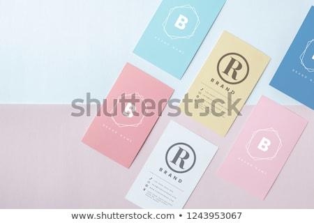 tarjeta · placa · tarjeta · de · crédito · Foto - foto stock © zzve